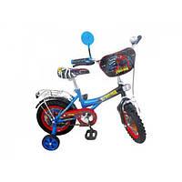 Велосипед детский мульт Спайдермен двухколесный Profi P 1245S