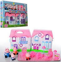 Игровой набор фигурок Свинка Пеппа Домик с мебелью (PP6005)