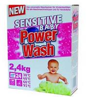 Стиральный порошок для детского белья POWER WASH Sensitive Baby 2.4 кг