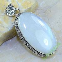 Винтажный кулон лунный камень адуляр