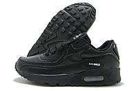 Кроссовки детские Nike Air Max черные (найк аир макс)
