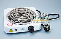 Электроплита настольная спиральная 1 кВт (плита электрическая переносная) 1-конф. Stenson (ME-0012S)