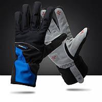 Вело перчатки теплые зимние Robesbon