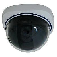 Купольная внутренняя видеокамера TESLA TS-533H f=3.6mm 700ТВЛ