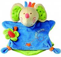 Игрушка платочек слон Деревянные развивающие игрушки