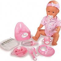 Кукла Пупс New Born Baby Дринк 43 см Simba 5039005