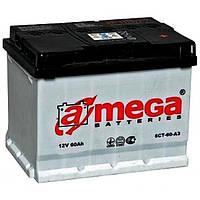 Автомобильный аккумулятор A-mega 6СТ-60 Аз Standart