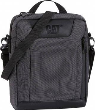 """Сумка через плечо с отделнием для планшета (7"""") 1,6 л. CAT Spare Parts Rebooted 83257;01 Черный"""