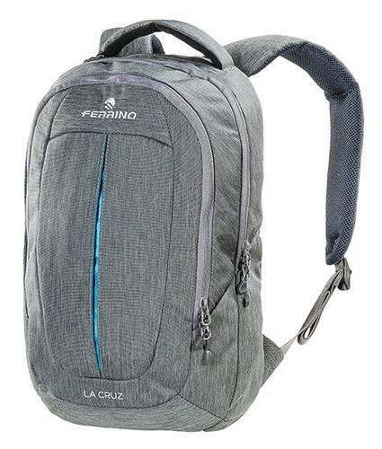 """Специальный рюкзак для ноутбука до 14"""" Ferrino La Cruz 22 Grey 922894 серый"""