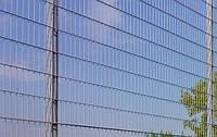 """Заборная секция """"Дуос"""" оцинкованная 4.9/3.9/4.9мм, 2.4м"""