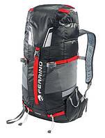 Классный прочный рюкзак для альпинизма Ferrino Lynx 30 Black 922862 черный
