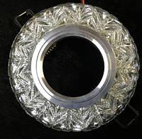 Точечный светильник SEAN SL-306 MR16 с LED подсветкой прозрачный Код.58744
