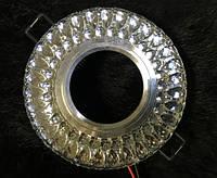 Точечный светильник SEAN SL-305 MR16 с LED подсветкой прозрачный Код.58743