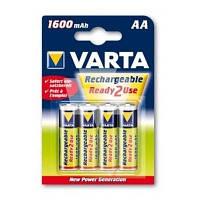 Аккумулятор Varta AA Long Life 1600mAh * 4 (56716101404)