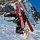Самый технологичный рюкзак для похода Ferrino Overland 50+10 Black/Red 922870 черный, фото 5