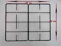 Решетка стола газовой плиты Грета шириной 60 см нового образца