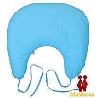 Подушка для кормления с завязками (полистироловые шарики)