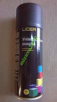 Эмаль универсальная LIDER черная матовая краска