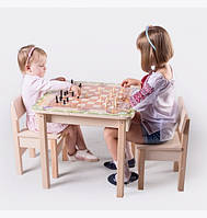 Стол-парта для рисования с шахматной доской