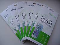 Защитное стекло пленка LG K8 (0.33mm) 9H