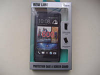 Чехол-бампер для HTC Desire 600 + ЗАЩИТНАЯ ПЛЕНКА