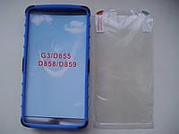 Чехол накладка бампер для LG G3/D855 + ПЛЕНКА