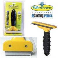 Фурминатор для собак и кошек и других животных ,желтый !