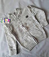 Кофта для девочки вязанная