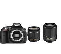 Nikon D5300 + AF-P 18-55 VR + 55-200 mm VR II