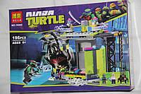 Конструктор аналог LEGO Черепашки-ниндзя  Bela ''Комната мутации'