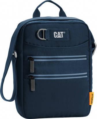 Прочная сумка через плечо 8 л. с отделением для планшета CAT Selfie 83298;157 Синий
