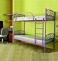Кровать металлическая Верона-дуо (ТМ Метакам)