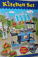 Игровая кухня Kitchen Set с плитой и микроволновкой (свет, звук)