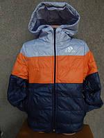 Детская куртка  Adidas от 1 года-7лет (осень/весна) серый верх