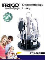 Барсета И Инструментыдля кухни 6 набор, стеклопластика подставке