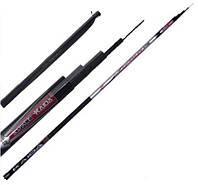 Рыболовное телескопическое удилище Kaida Team wx Plus 110-400 без колец 4 метра