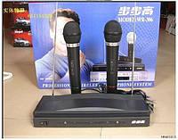 Радиомикрофоны + база 2 микрофона WR-306
