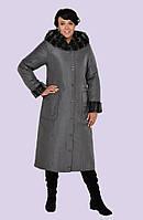 Модное женское зимнее пальто(большие размеры)
