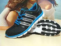 Кроссовки мужские Adidas crazycool (адидас) черно-синие 41 р.