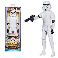 Звездные войны фигурка Имперский штурмовик 30 см высотой. Оригинал Hasbro