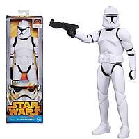 Звездные войны фигурка Клон-штурмовик (Клон-солдат) 30 см высотой. Оригинал Hasbro