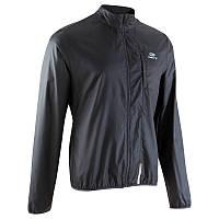 Куртка мужская для бега Kalenji EKIDEN черная