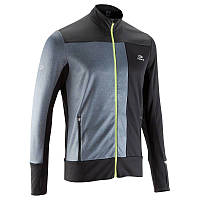 Куртка мужская для бега Kalenji ELIOPLAY черная