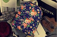 Рюкзак городской женский цветы