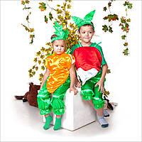 Карнавальный костюм детский Морковка