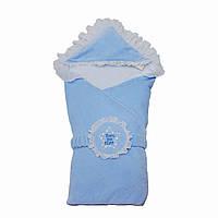 Конверт-одеяло для мальчика Minikin 15217 голубой