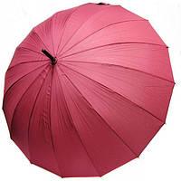 Зонт-трость 16 спиц Doppler London 74163DWR механика Бордовый