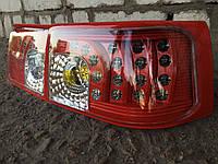 Диодные задние фары на ВАЗ 2110 Картечь (красные)