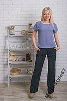 Костюм женский с брюками летний