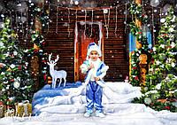 Детский новогодний костюм на мальчика 2-10 лет